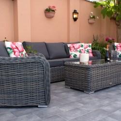 Lounge Rattan Garden Furniture