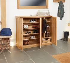 Oak Shoe Cupboard
