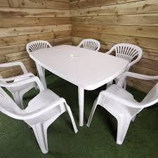 Plastic Garden Dining Set
