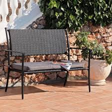 Rattan Benches