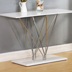 High Gloss Console Table