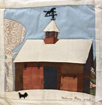McKenna Barn. Helen McKenna, Quilter