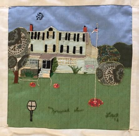 Norwich Inn. Louise Benson, Quilter