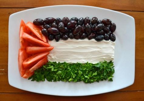 Palestine Food Flag