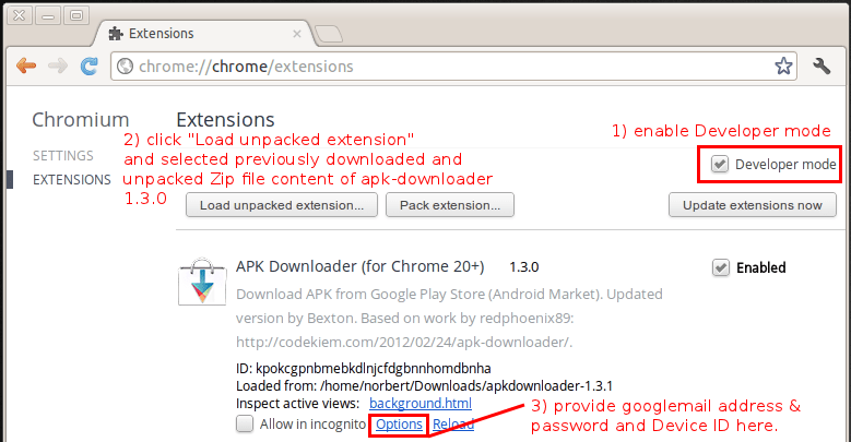 Download Android install files *.apk from play.google.com (1/2)