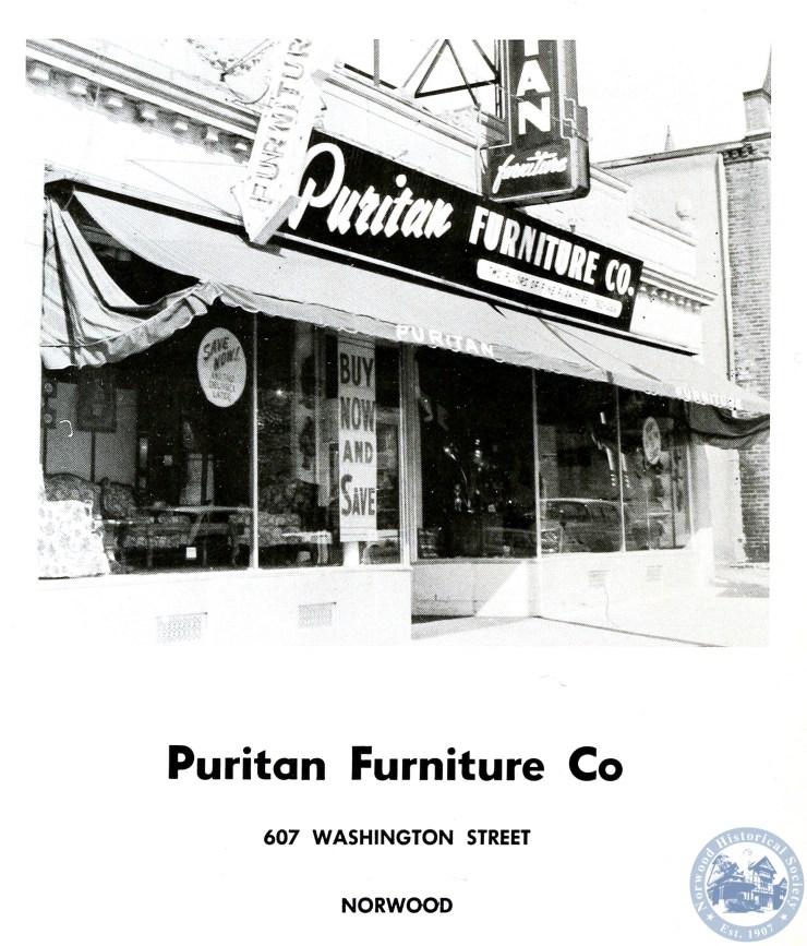 Puritan Furniture Norwood Historical, Puritan Furniture Ct