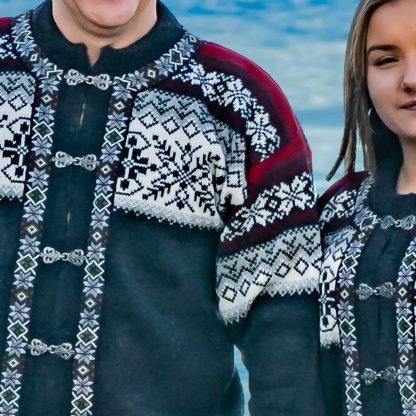 Romsdal lusekofta från Norwool