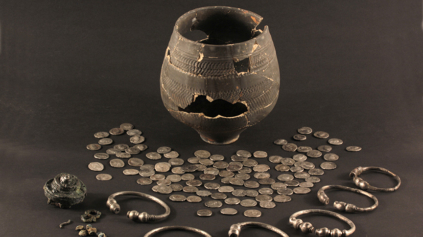 The Roman treasure found in The Hague