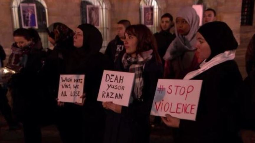 Commemoration for murdered Muslims in Amsterdam
