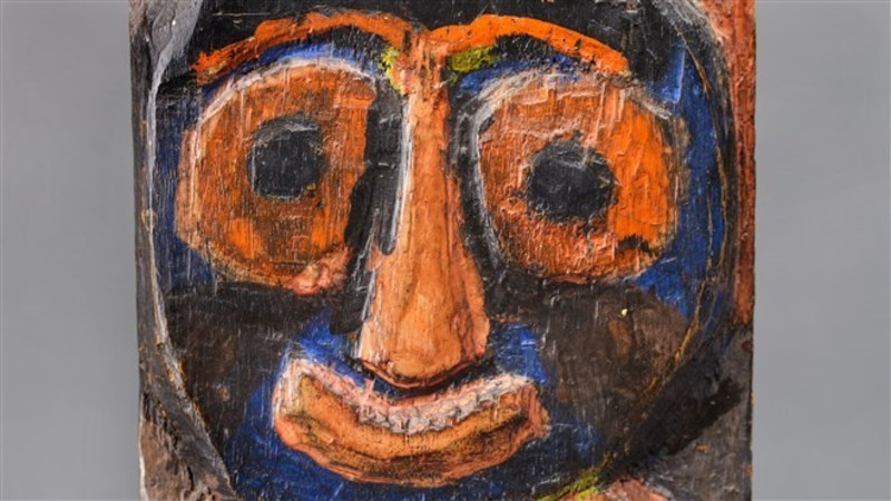 Newly discovered Karel Appel relief