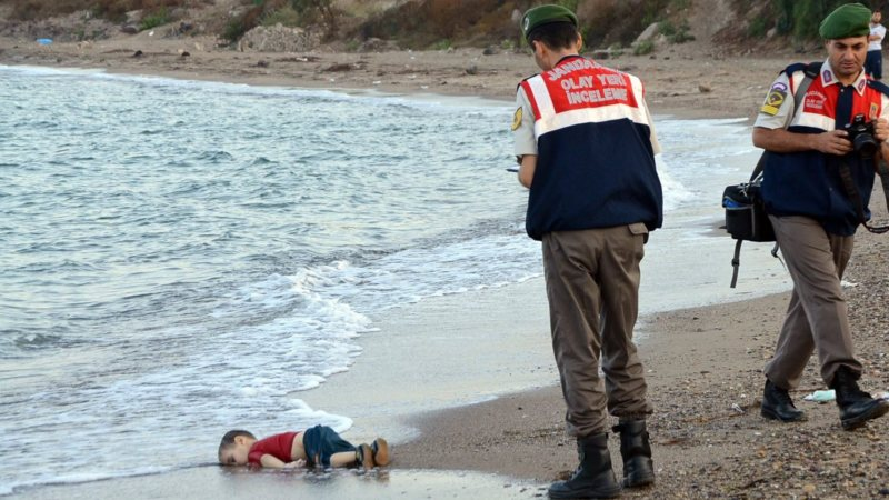 Drowned three-year-old Syrian boy Aylan, dead on the Turkish coast