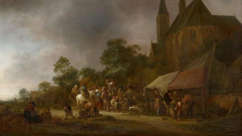 An essay on a village fair � Online Educare