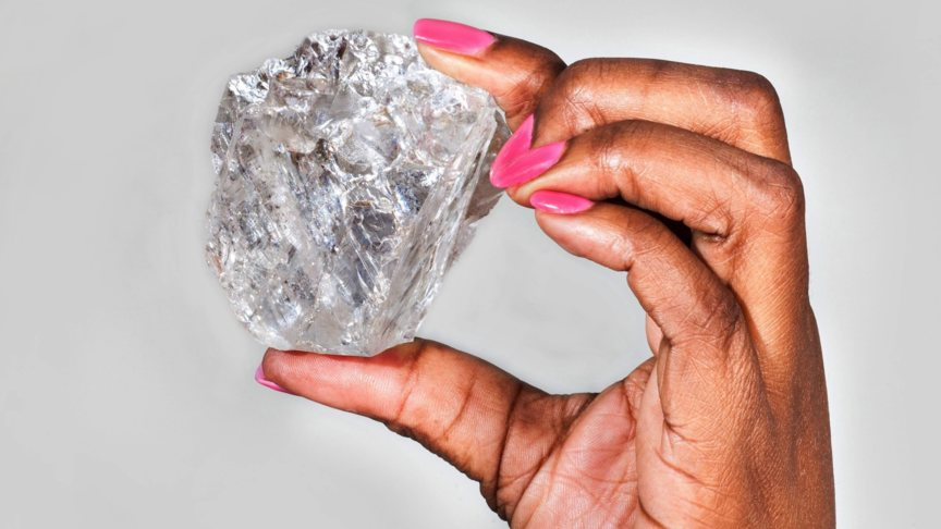 Lucara diamond, photo EPA