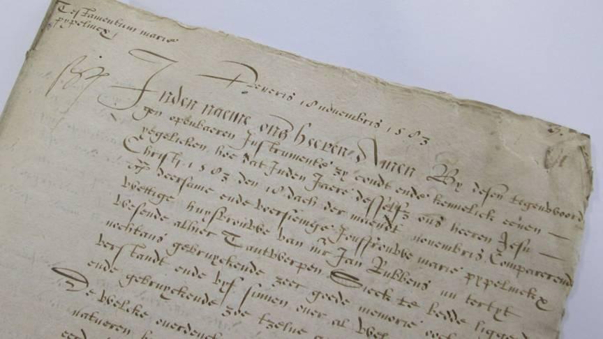 Rubens' mother's testament