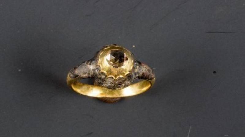 Maria Tesselschade's wedding ring