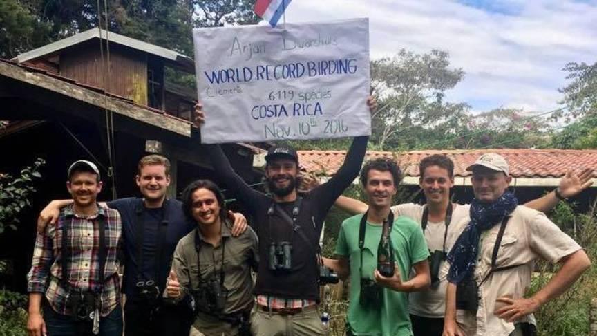 Arjan Dwarshuis in Costa Rica