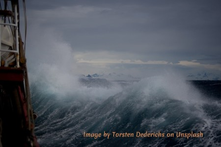 The stormy seas of life