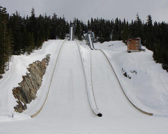 2010 Olympic ski jumps