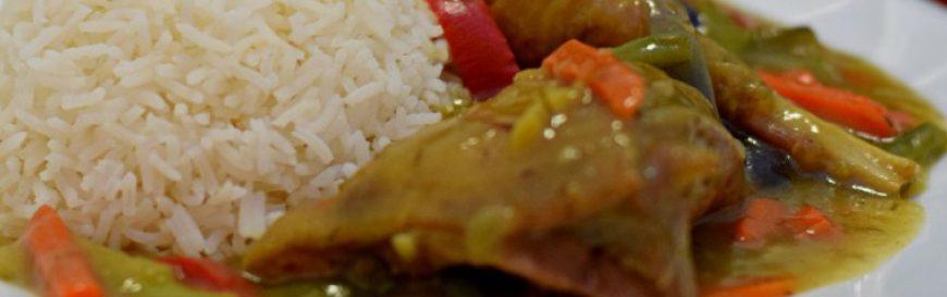 Nigerian Vegetable Chicken Sauce