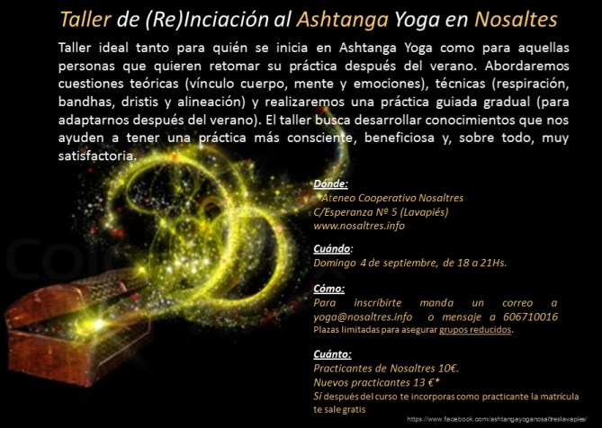 CartelTaller Ashtanga