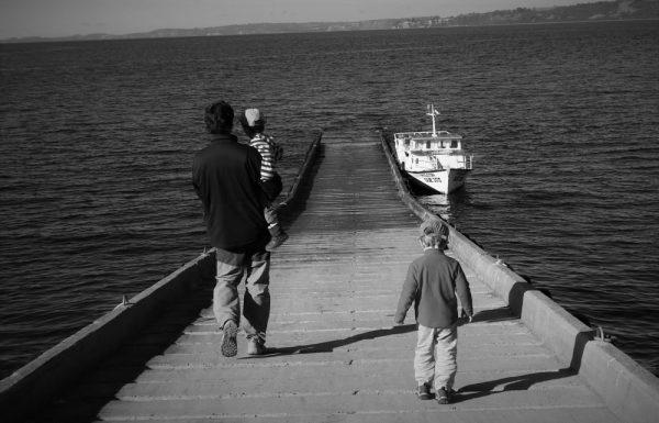Navegando por el archipiélago de Chiloé (Chile, 2013)