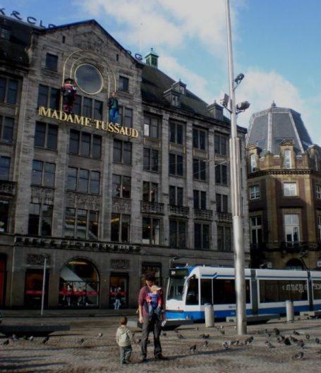 Paseando por el centro de Amsterdam