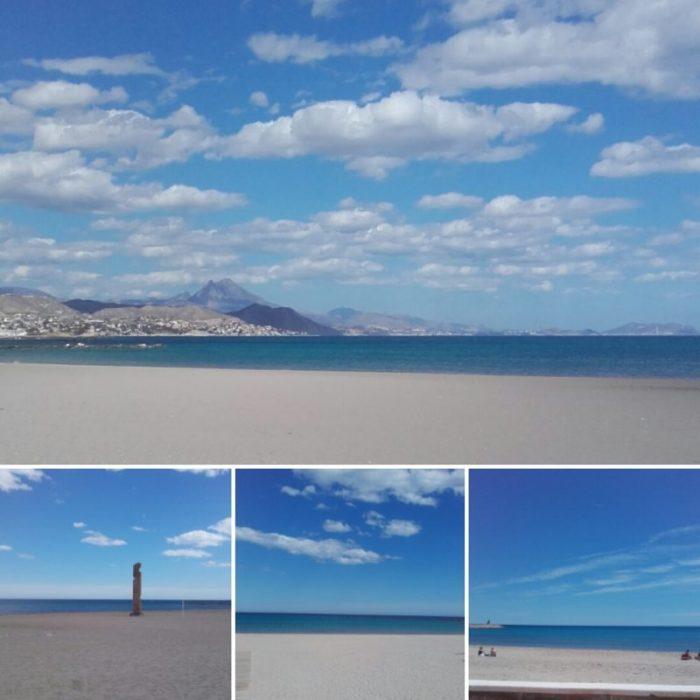 Las playas de arena de El Campello