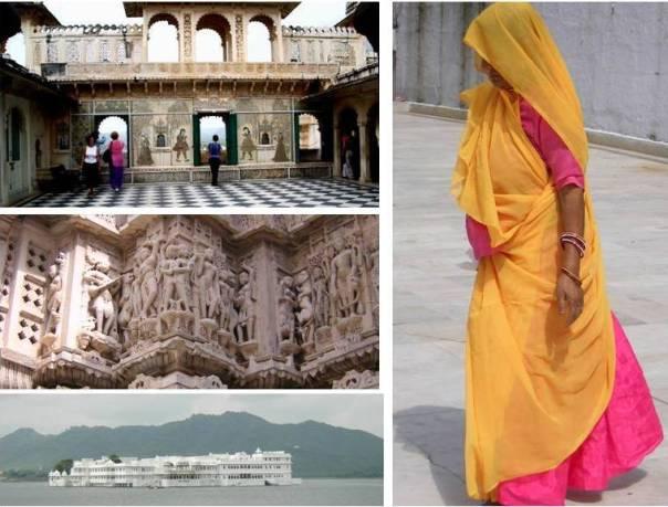 Udaipur destaca por sus edificios bellamente engalanados (India, 2007)