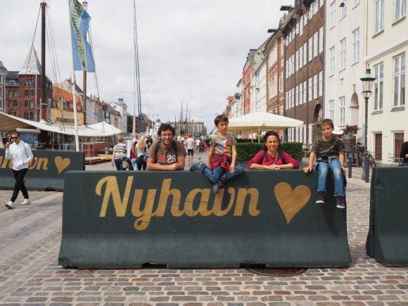Copenhaguen Nyhavn DInamarca