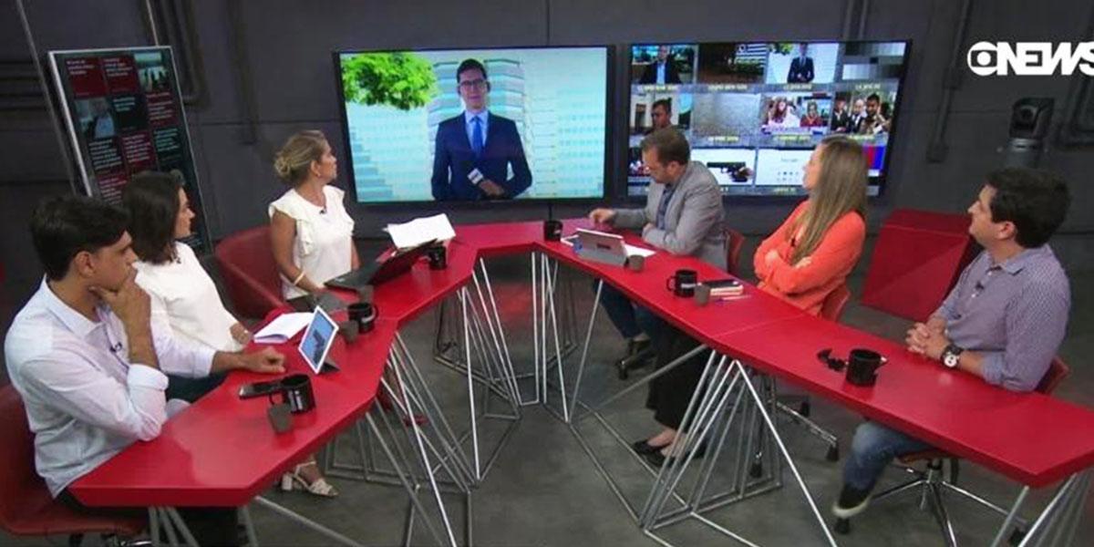Jornalista é vítima do gemidão do zap ao vivo em programa da GloboNews