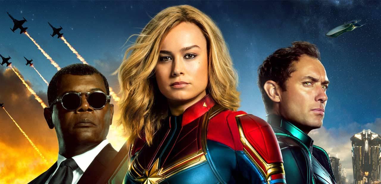 Capitã Marvel alcança a sexta maior estreia mundial da história