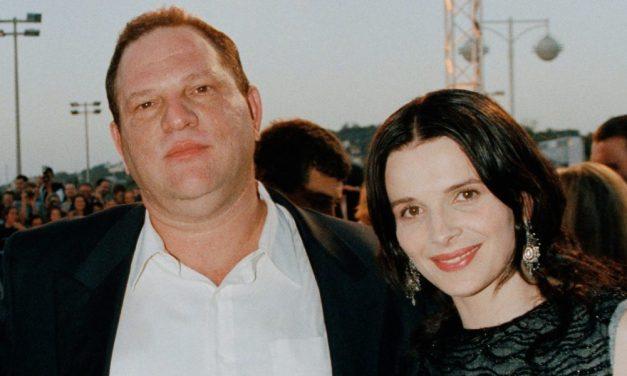 Juliette Binoche causa polêmica ao defender Harvey Weinstein