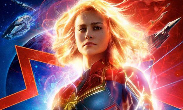 Capitã Marvel chega próximo de US$1 bilhão em bilheteria mundial