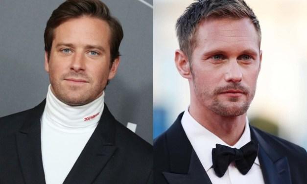 O Homem Invisível   Armie Hammer e Alexander Skarsgård são cotados para o papel principal