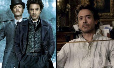 Diretor de Rocketman dirigirá Sherlock Holmes 3