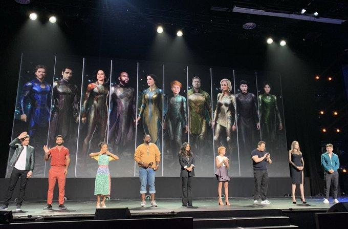 Os Eternos | Marvel revela elenco completo do longa; Primeira arte oficial é divulgada