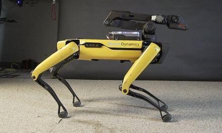 Polícia americana já está usando cachorros robôs em operações oficiais
