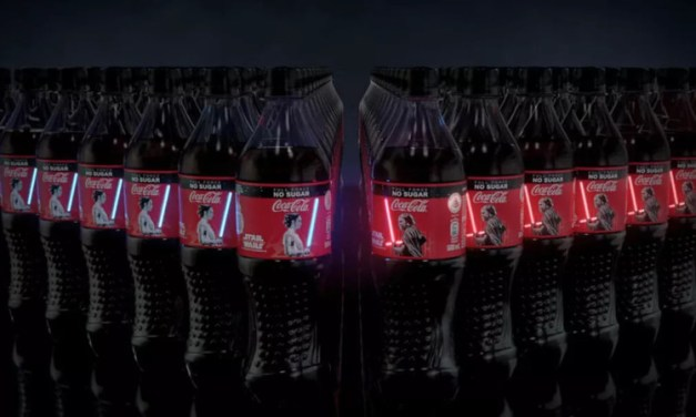 Coca-Cola lança garrafa com LED em edição especial de Star Wars