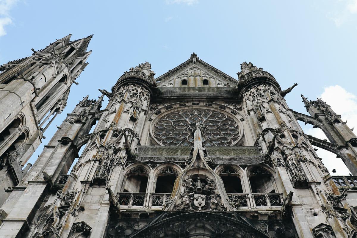 vue cathédrale senlis