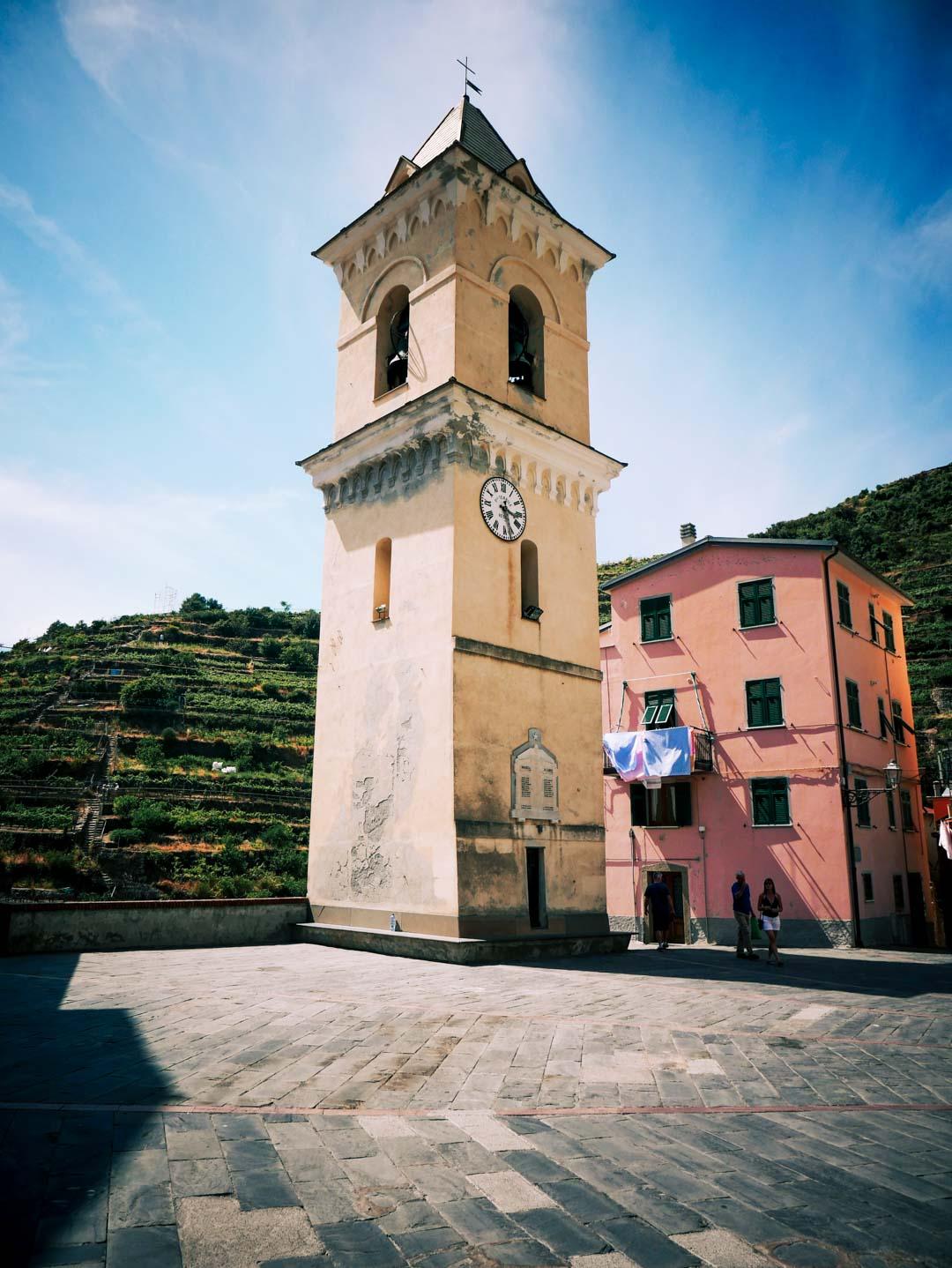 eglise Riomaggiore italie