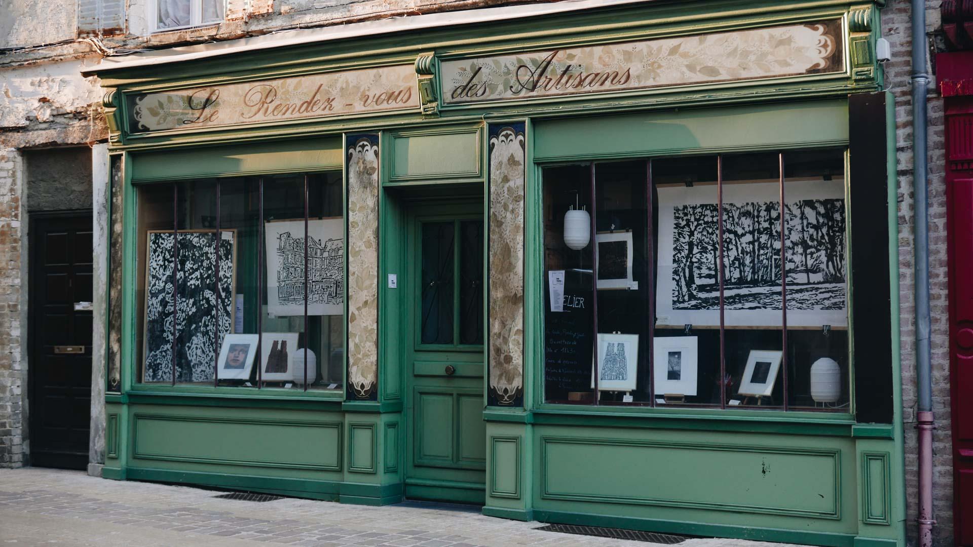 vieille boutique Laon