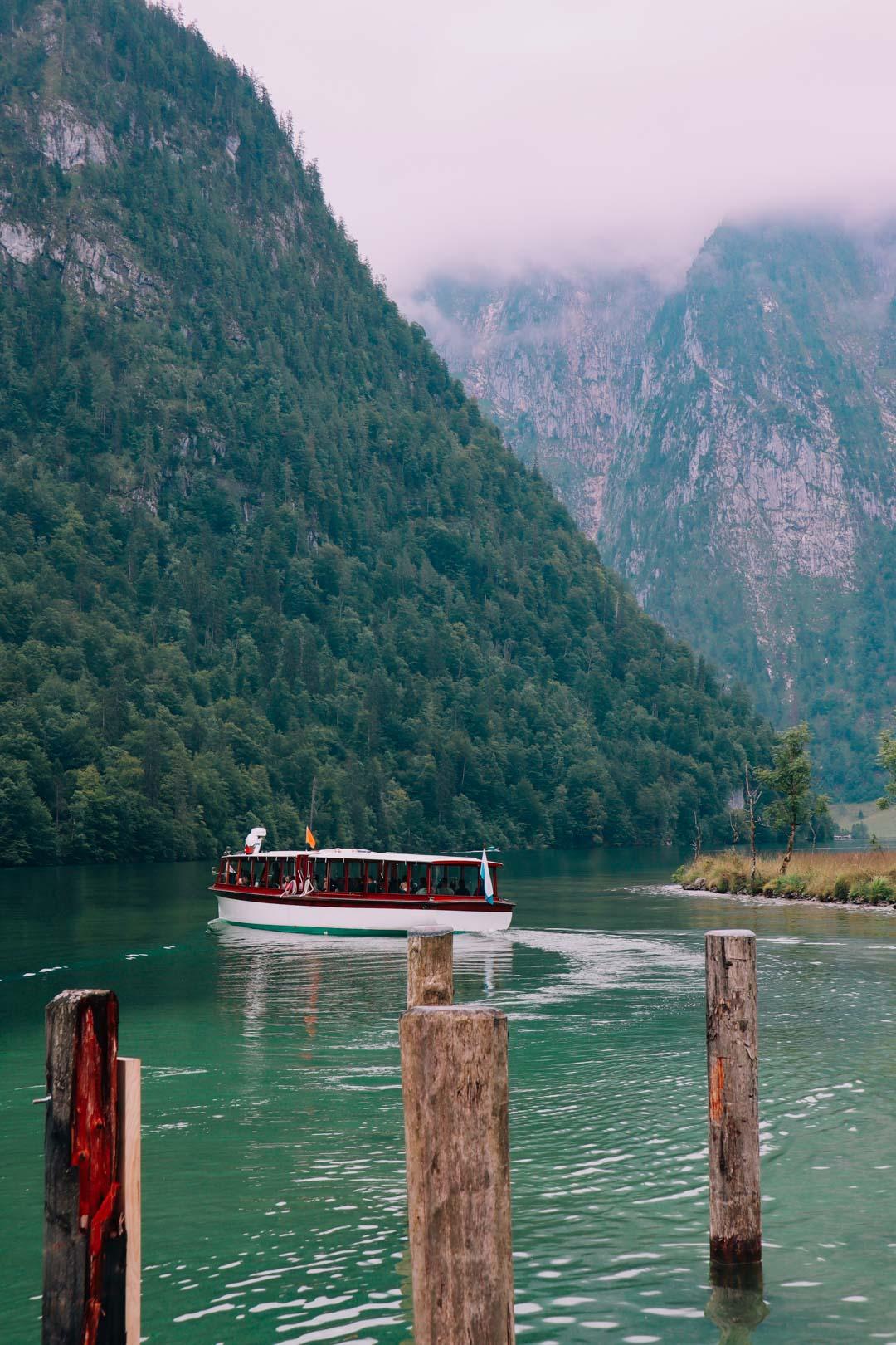 bateau electrique lac konigssee