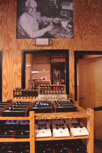 Inside the Moog Factory