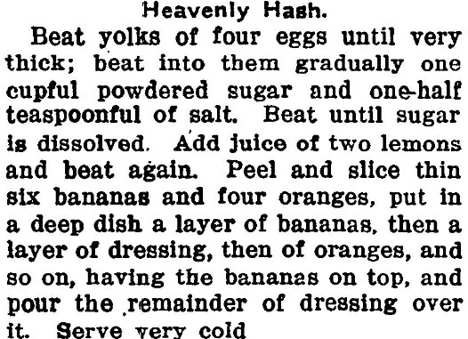 Heavenly Hash, Gilboa Monitor, January 28, 1915, p. 3