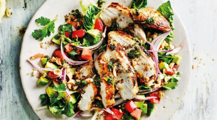 Chopped Chicken Salad - healthy recipes