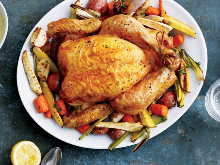 Roasted Chicken and Vegetables - healthy recipes