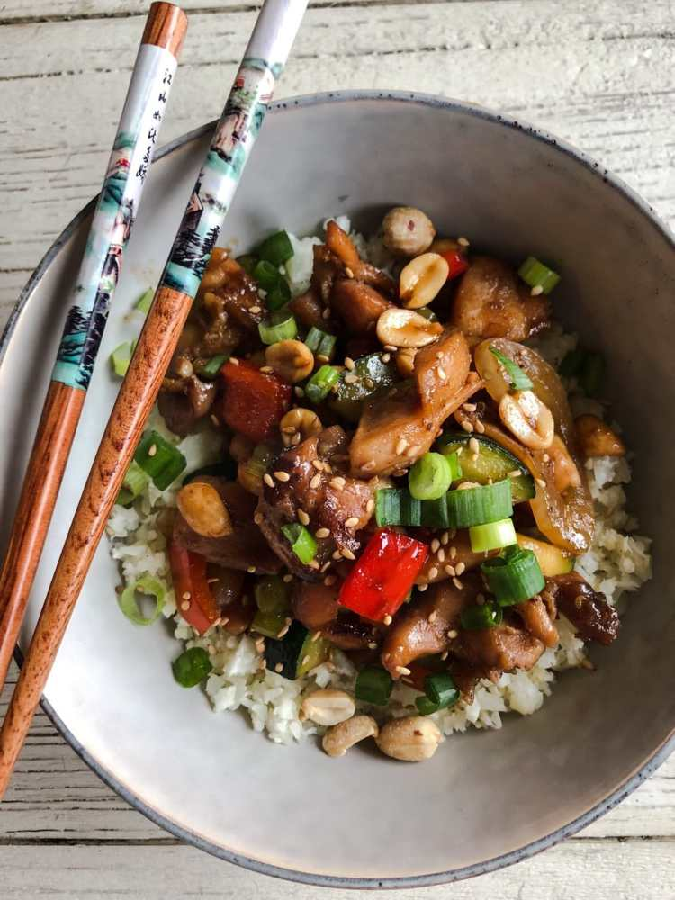 Better than take-out kung pao chicken