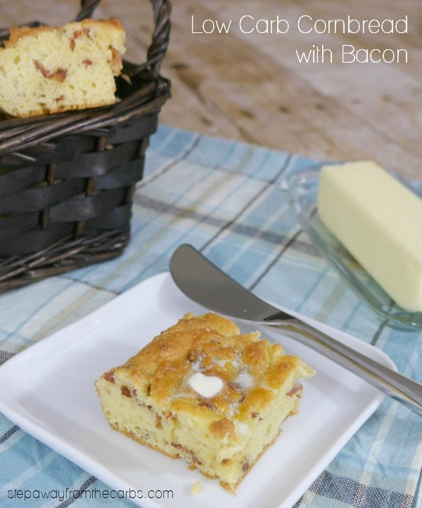 Low Carb Cornbread with Bacon