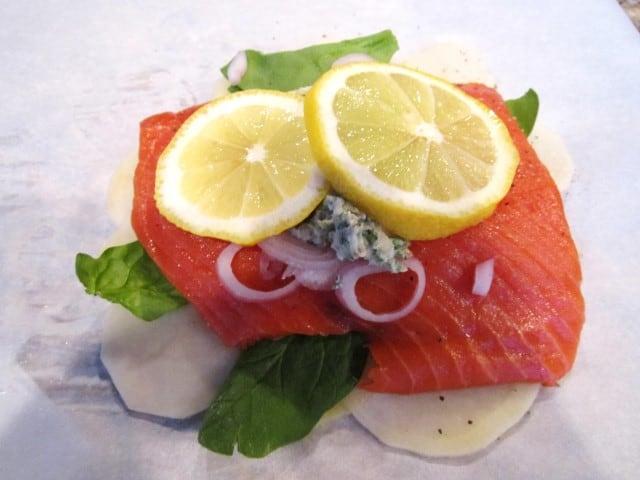 salmon en pappiotte (Small)