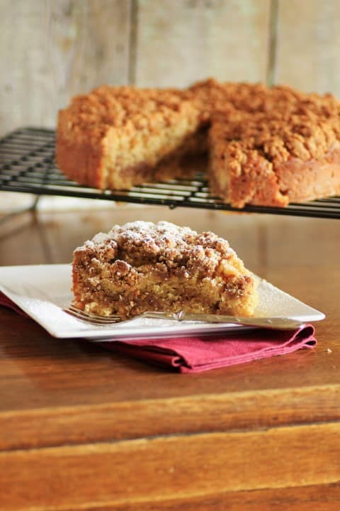 Maple Syrup Pecan Coffee Cake by Noshing With The Nolands (Small)